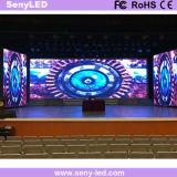 Visualizzazione di LED locativa P3 per la parete mobile esterna dell'interno della parte posteriore della fase