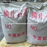 Preço natural do pó da grafita de floco feito em China