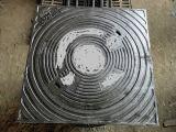 En124 D400 resistente--Botola rotonda del coperchio del blocco per grafici quadrato per