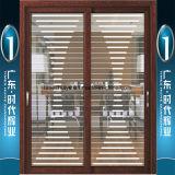Buena calidad y puertas deslizantes de aluminio del precio competitivo