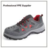 Обувь безопасности стального пальца ноги неподдельной кожи дешевая