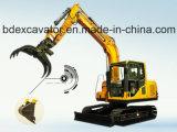 Cargadora de la caña de azúcar de los excavadores de Baoding 8.5ton