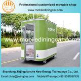 Camion mobile Unpowered dell'alimento con la bella prospettiva ed il Ce