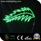 2D LED-im Freienschneeflocke-Licht für Weihnachtsdekoration