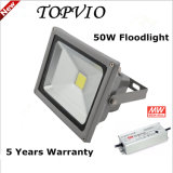 Lampe d'inondation extérieure imperméable à l'eau d'IP65 50W DEL avec 5 ans de garantie