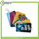 Plastik-Belüftung-HAUSTIERES RFID des CMYK Drucken ISO-13.56MHz 15693 NFC Karten