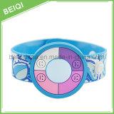 Fascia calda promozionale del silicone dell'orologio del braccialetto dell'elastico del silicone di vendita