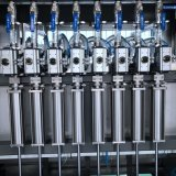 Cer-anerkannte Flasche, die essbare Gemüseolivenöl-Füllmaschine mit hoher Präzision kocht