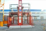 Aufbauende Hebevorrichtung für Fracht mit einzelnem Rahmen oder doppeltem Rahmen