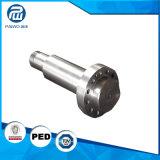 Arbre en acier solide tourné rugueux traité par solution d'ASTM A182 F316L
