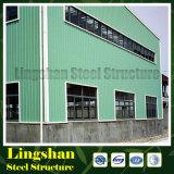 Пакгауз стальной структуры Lingshan полуфабрикат (LS-S-061)