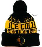 Cap Muestra libre de la manera del estilo de punto Beanie sombrero de invierno bordó el casquillo (S-1017)