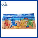 Tovagliolo 100% di spiaggia delle cesoie del cotone (QHA5509)