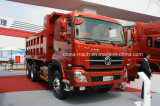 Ribaltatore dell'HP 6X4 di Dongfeng 350/autocarro con cassone ribaltabile/camion del deposito/autocarro con cassone ribaltabile