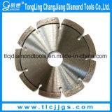 Het Scherpe Blad van de Diamant van de laser voor Gewapend beton Snijden