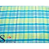 Telas teñidas hilado de nylon del algodón (capa) de la PU (SRSCN 049)