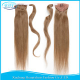 "Black WomenブラジルのHair Clip Ponytail 60g/SetのためのバージンNatural Human Hair Ponytail Extension 18 "" 22 "" Real Hair Hairpiece"