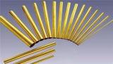 Vario tubo de cobre amarillo de la alta precisión de la dimensión de una variable del OEM para el equipo
