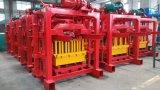 Linha de produção do bloco da máquina/cavidade de fatura de tijolo Qtj4-35 contínuo
