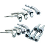 Ajustage de précision de tuyau d'acier inoxydable et connecteur étampés hydrauliques mâles (joint circulaire 10311)