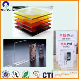 China folha transparente do acrílico de 4ft x de 6ft finamente 5mm