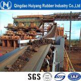 Bande de conveyeur en caoutchouc de cordon en acier plat interurbain lourd