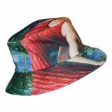 Cappello variopinto del pescatore della benna di stampa floreale su ordinazione