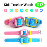 Múltiplos idiomas Kids GPS Tracker Watch Colorful Touch Screen (D13)