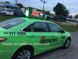 Canade Taxi Topper Publicidad LED Displays / digital superior del taxi publicidad de la muestra