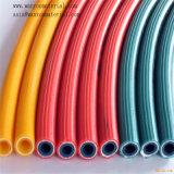 Boyau renforcé flexible en plastique de l'eau de PVC de fil d'acier de pipe