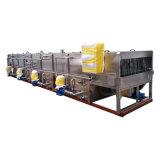 Máquina de pasteurizador de túnel de garrafa de celulose de uso industrial 2000b / H