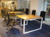 Рабочая станция стола офиса штата формы MFC самомоднейшего высокого качества Uispair перекрестная