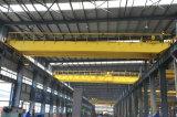 50/10 Ton gebruikte Qd wijd de Dubbele LuchtKraan van de Brug van de Hanger van de Balk met de Elektrische Opheffende Machines van het Hijstoestel voor Workshop