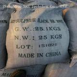 Br 180% 200% 220% 240% de noir de soufre de teinture pour le textile
