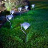 Luz solar DIY del camino del diamante con 24 paquetes