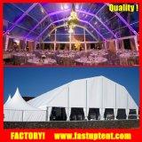 Grosse Aluminiumrahmen-Qualitäts-Luxuxabdeckung-Polygon-Hochzeits-Zelt