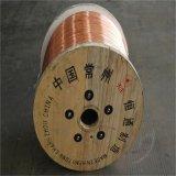 Fio de aço folheado CCS do cobre do fio de gota do telefone no carretel plástico