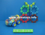Brinquedo educacional do presente do enigma plástico do bloco de apartamentos (1077501)