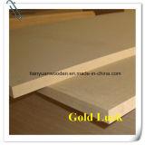 Tarjeta del MDF del llano/de la melamina para la cabina de los muebles de la puerta (GL116)
