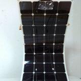 Comitato solare flessibile portatile pieghevole 100W delle cellule di Sunpower di alta efficienza