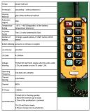ジブクレーンのためのF23-a++ Telecraneの産業無線遠隔制御装置