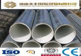 Tubo redondo de acero plástico de la guarnición del precio bajo de la buena calidad