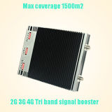 900/1800/2100 di ripetitore mobile a due bande del segnale dell'amplificatore cellulare 900/2100, ripetitore del segnale di 2g 3G