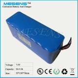 7.4V 26ah Lithium-Ionenbatterie-Sätze