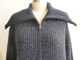 Warmes Merino Wool Blended Cardigan Knitwear mit Button
