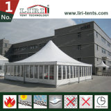 tente de chapiteau de 10mx10m avec le modèle blanc de pagoda de toit de PVC