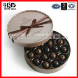 Caja de regalo de encargo de la cartulina para el empaquetado del chocolate