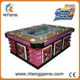 Máquina de juego inglesa del vector de juegos de los pescados del Shooting de la versión