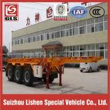 40-voet 2-as Flatbed Semi Aanhangwagen voor Verkoop