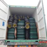 Galvainzed Metaltellersegment-industrielle Rad-Eber